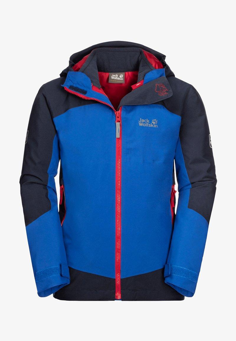 Jack Wolfskin - ROPI 3IN1 - Soft shell jacket - coastal blue