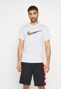 Nike Performance - FRAN TEE - Print T-shirt - white - 0