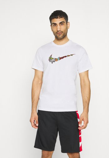 FRAN TEE - T-shirt med print - white