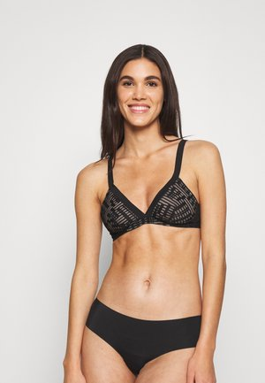SEVEN SOFT BRA - Triangle bra - black