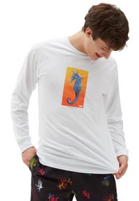 Vans - MN REALITY CORAL LS - Long sleeved top - white - 0