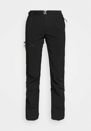 TITAN PASS™ PANT - Trousers - black