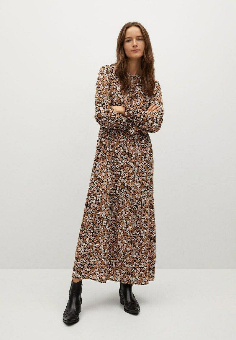 Mango - ELI-A - Maxi dress - black/brown
