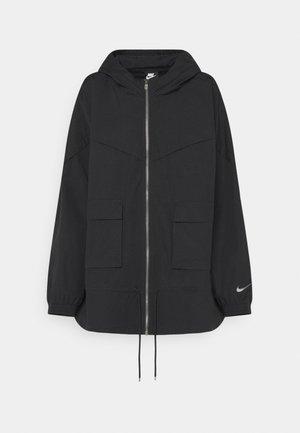 Summer jacket - black/dark smoke grey
