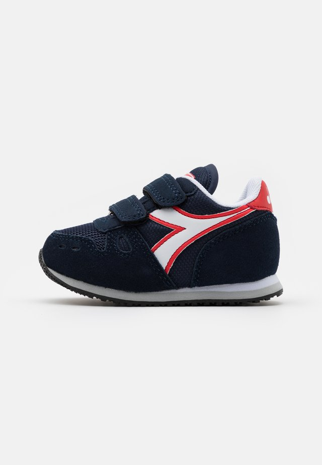 SIMPLE RUN UNISEX - Chaussures de running neutres - blue corsair/white