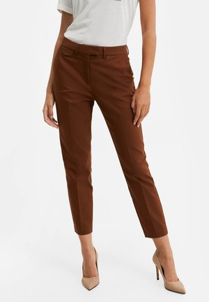 Chinos - cinnamon brown