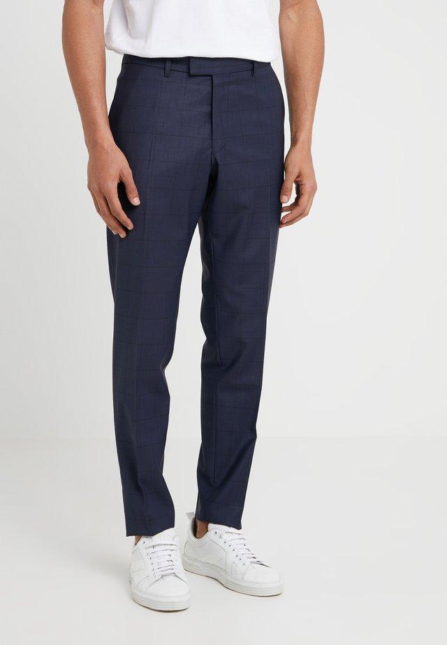 PIET - Suit trousers - navy