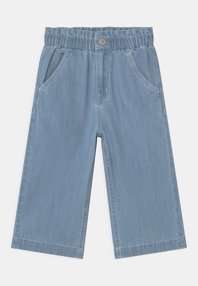 CULOTTE - Straight leg jeans - light blue denim