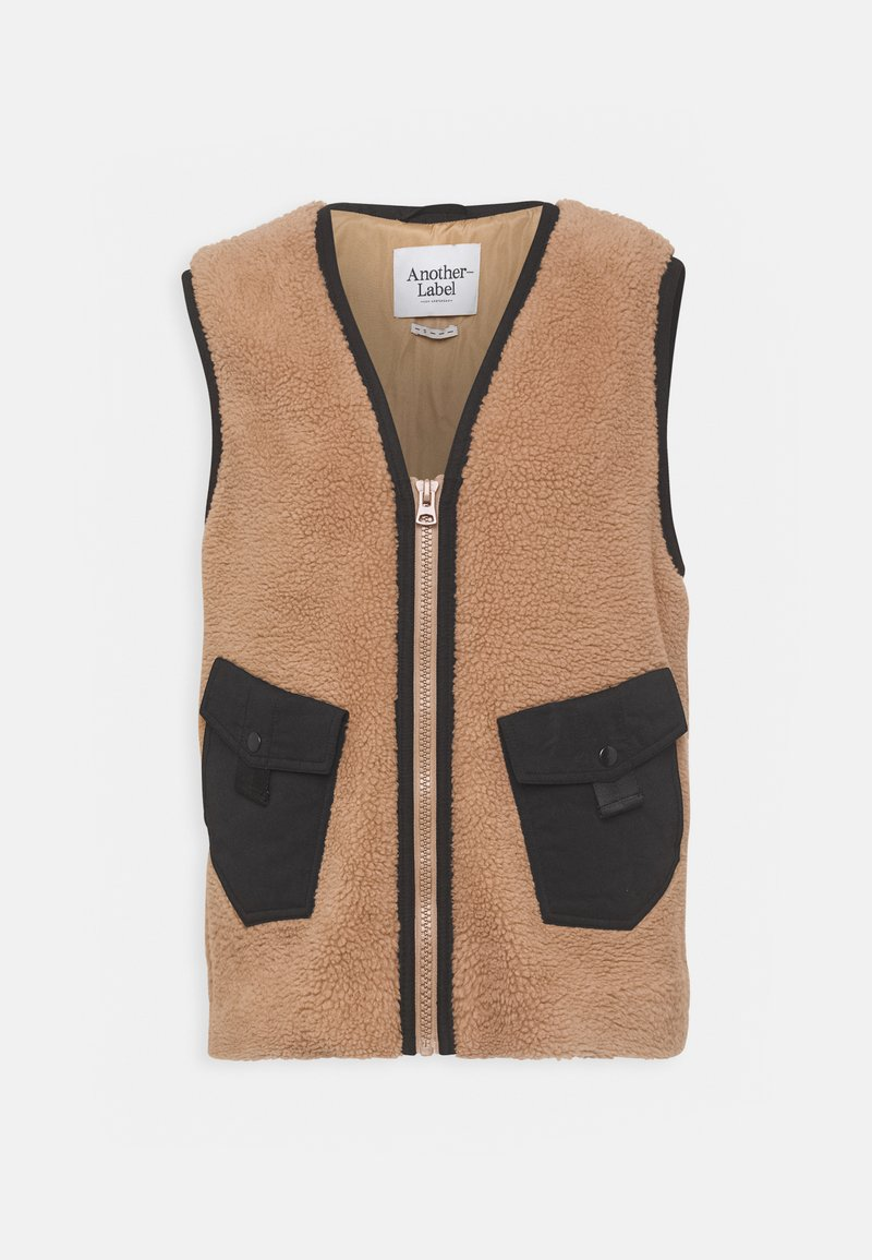 Another-Label - DORA VEST - Waistcoat - sand