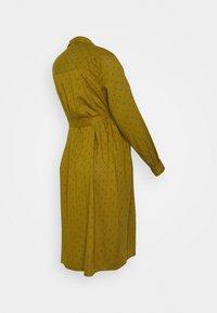 MAMALICIOUS - MLMERCY SHIRTDRESS - Shift dress - nutria - 1