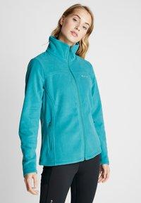Columbia - FAST TREK LIGHT FULL ZIP - Fleece jacket - waterfall - 0