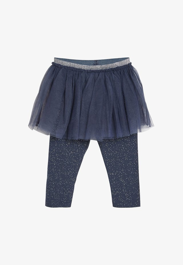 TUTU AND SPARKLE - Leggings - blue