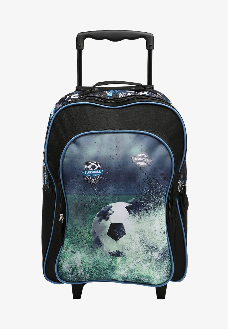 Fabrizio - FUSSBALL - Wheeled suitcase - schwarz