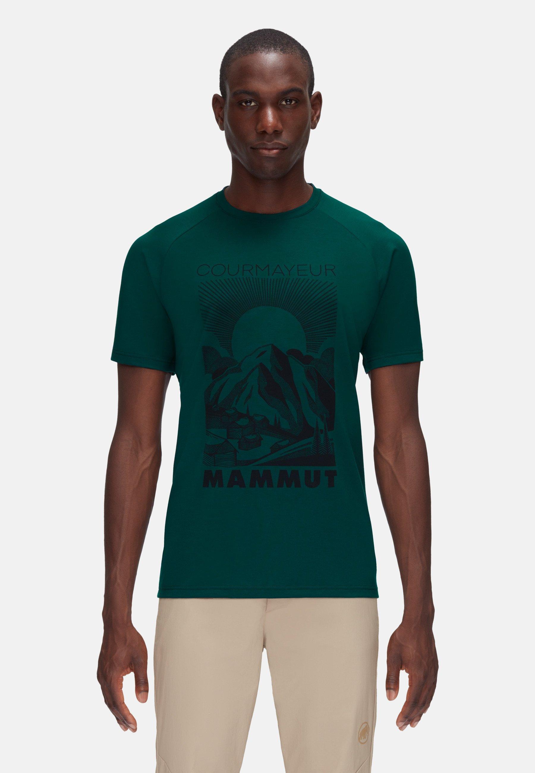 Herren MOUNTAIN - T-Shirt print - dark teal
