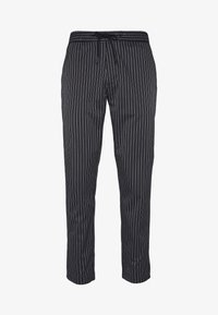 Topman - STRIPE WHYATT - Pantalon de survêtement - navy - 3