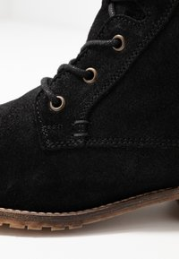 Anna Field - LEATHER BOOTIES - Lace-up ankle boots - black - 2