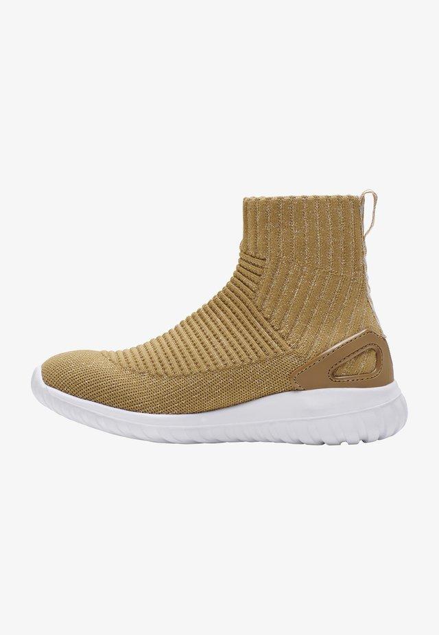 Sneakers hoog - gold