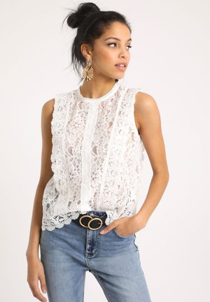 Blouse - vintage white