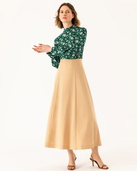 IVY & OAK - STAND UP COLLAR BLOUSE - Blouse - evergreen - 1