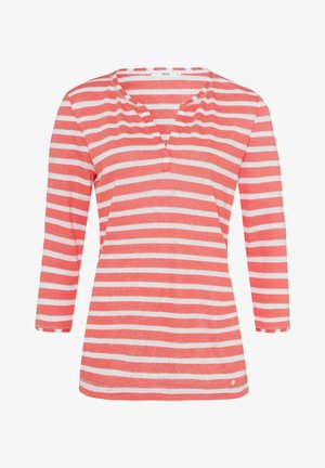 STYLE CLAIRE - Long sleeved top - coral