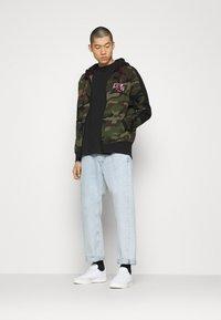 Jordan - Zip-up hoodie - medium olive/black - 1