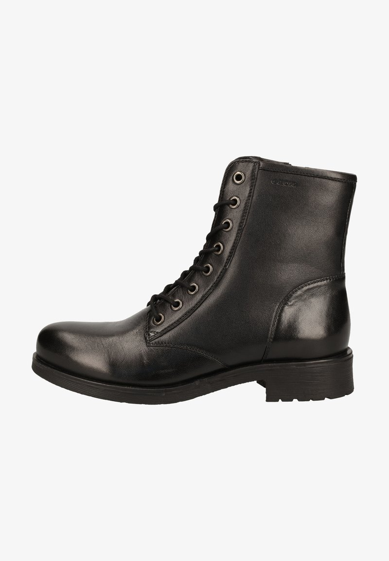 Geox - Lace-up ankle boots - schwarz