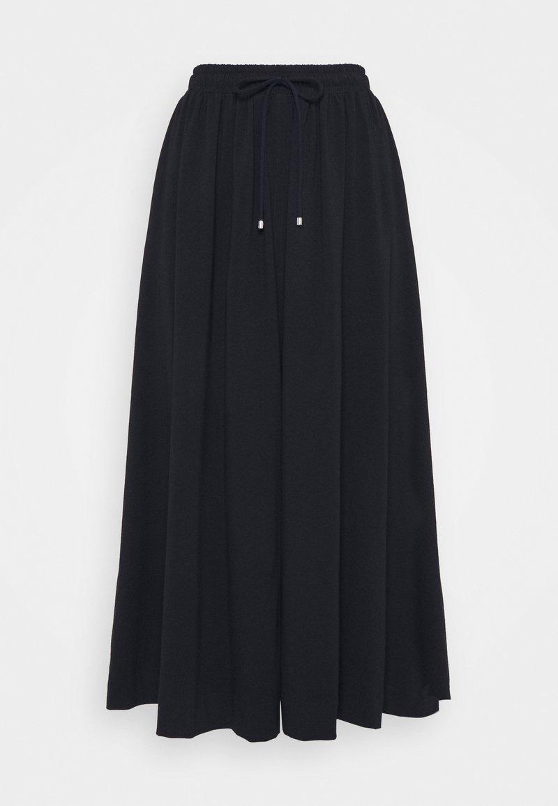 Max Mara Leisure - RADAR - A-line skirt - nachtblau
