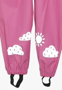Frugi - PUDDLE BUSTER TROUSERS - Rain trousers - flamingo - 2