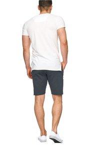 INDICODE JEANS - CARVER - Denim shorts - anthrazit - 1