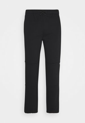 BIENVILLE - Tracksuit bottoms - black