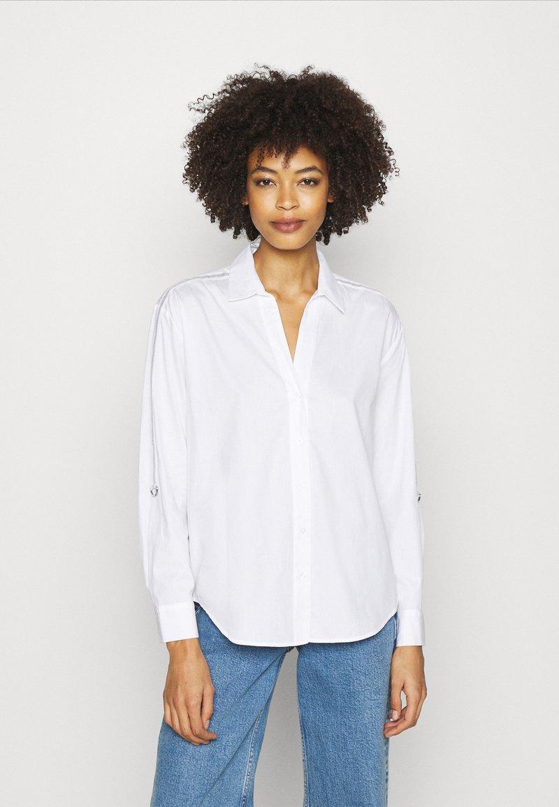 Opus - FULINE SPORTY - Skjorte - white