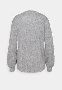Esprit - CARDIGAN - Cardigan - light grey - 1