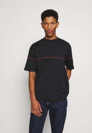 DITTLE - Print T-shirt - black