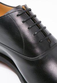 Barker - DUXFORD - Stringate eleganti - black - 5