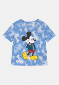 GAP - TODDLER BOY MICKEY MOUSE - Print T-shirt - blue - 0
