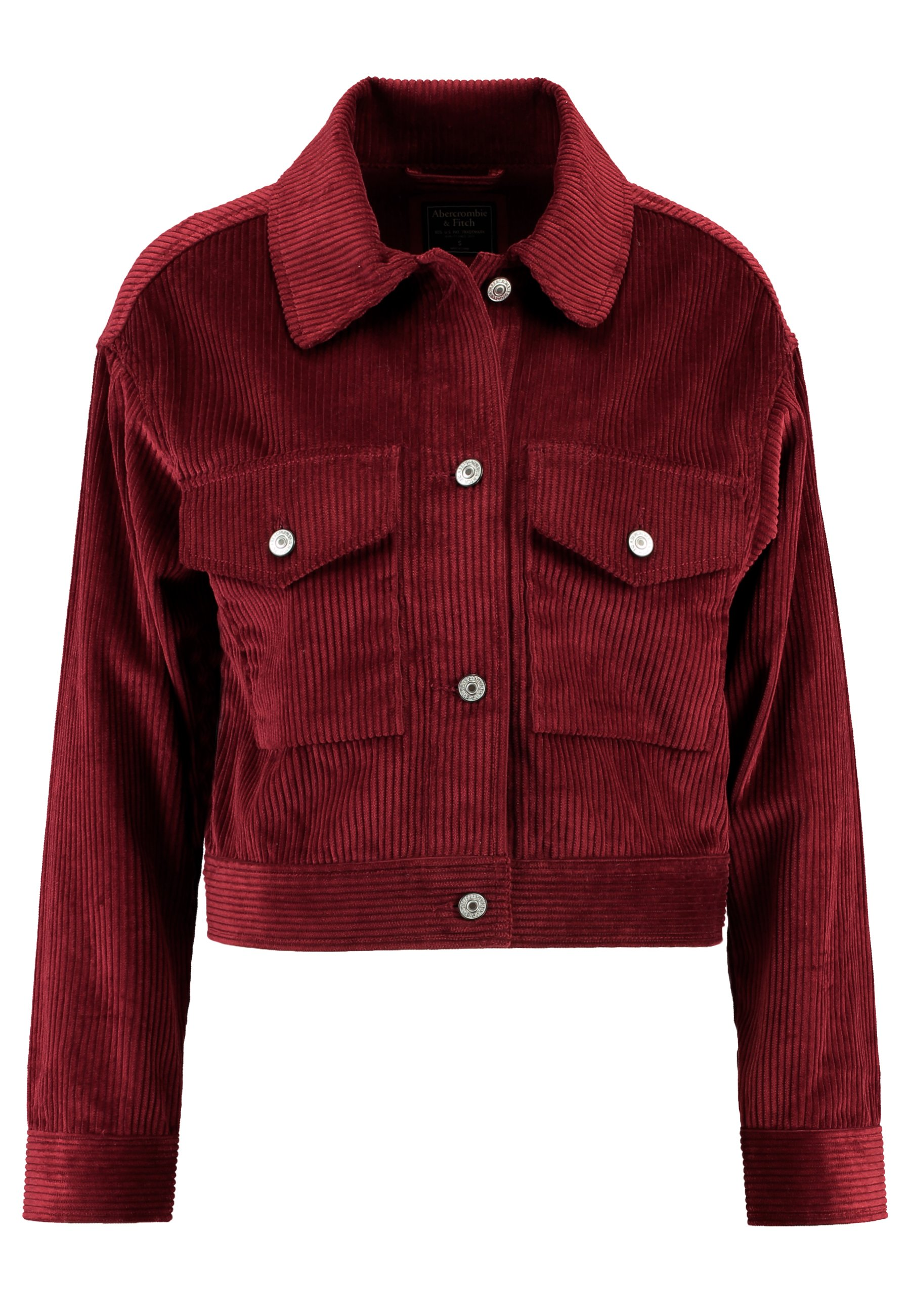 Abercrombie & Fitch TRUCKER JACKET - Summer jacket - red