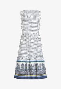 Vera Mont - Day dress - cream/blue - 2
