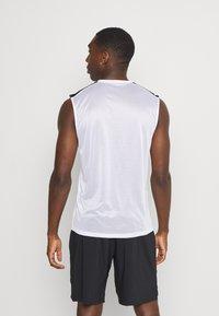 Reebok - TECH TEE - Sports shirt - white - 2