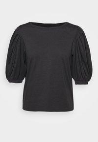 ONLSASHA PUFF - Print T-shirt - black