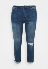 Simply Be - FERN BOYFRIEND - Jeans Tapered Fit - vintage blue - 3