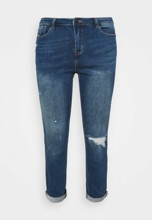 FERN BOYFRIEND - Jeans Tapered Fit - vintage blue