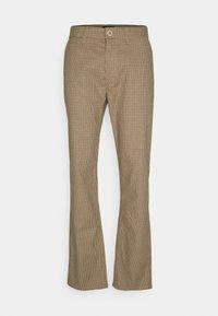 Brixton - CHOICE PANT - Kalhoty - vanilla houndstooth - 0