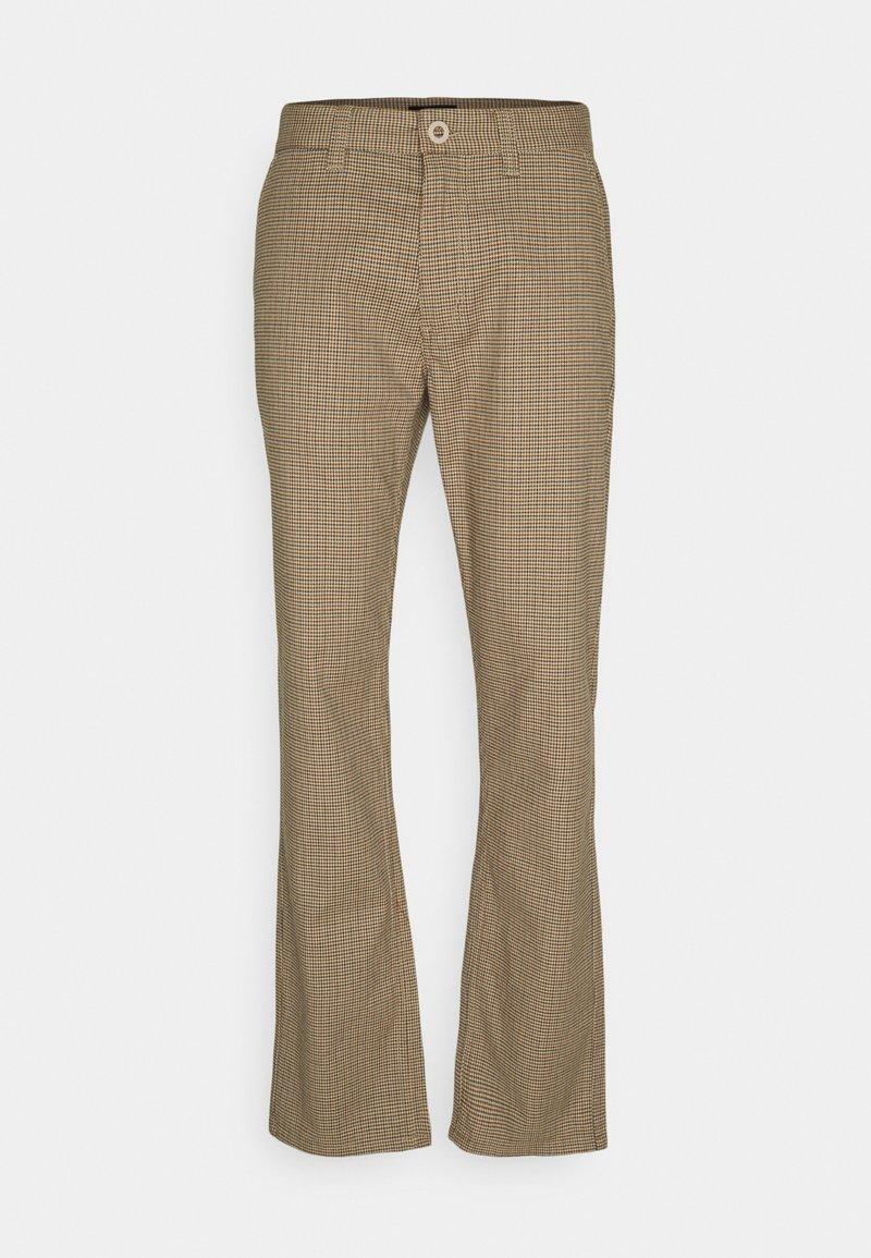 Brixton - CHOICE PANT - Kalhoty - vanilla houndstooth