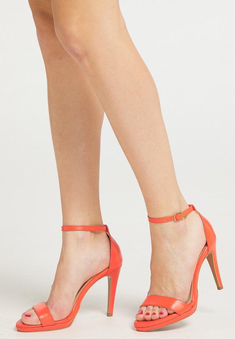 faina - Sandalen met hoge hak - orange