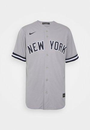 MLB NEW YORK YANKEES OFFICIAL REPLICA ROAD  - Klubové oblečení - dugout grey