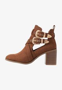 Miss Selfridge - CUT OUT - Ankle boots - tan - 1