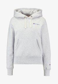 Champion Reverse Weave - HOODED - Hoodie - mottled grey - 4