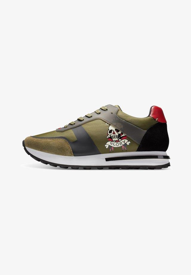 TRANS RUNNER-SKULL - Sneakers laag - khaki