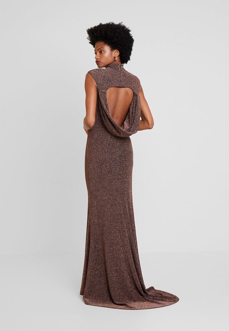 Jarlo - HART - Společenské šaty - bronze