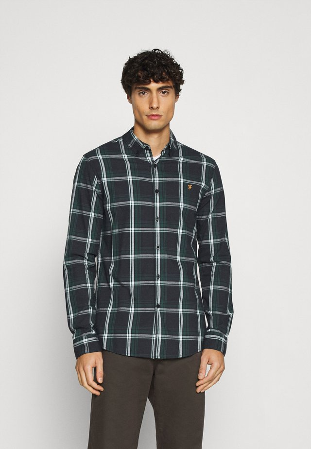 STEEN CHECK SLM  - Shirt - true blue marl